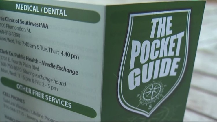 Pocket guide' provides advice on being homeless in vancouver | kgw. Com.