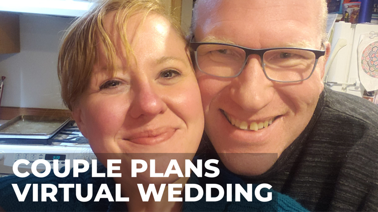 Beaverton couple plans virtual wedding amid coronavirus, social distancing concerns