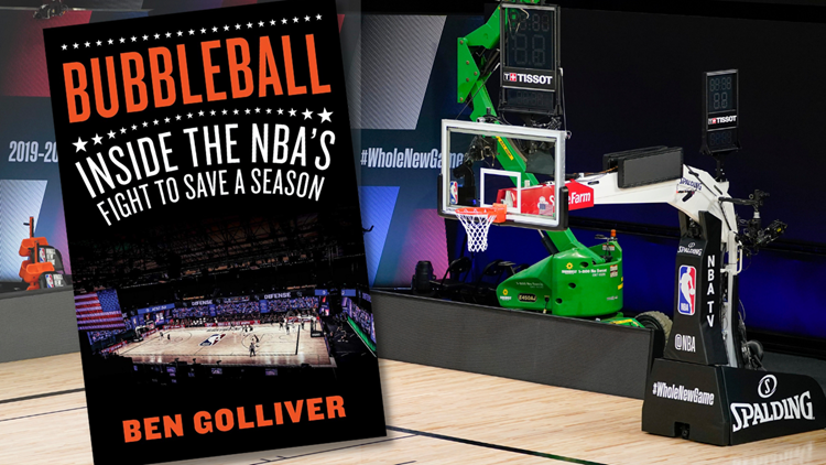 Beaverton native Ben Golliver writes book about living in the NBA bubble