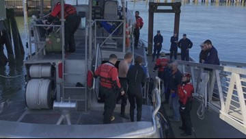 Two boaters rescued near Tillamook Bay