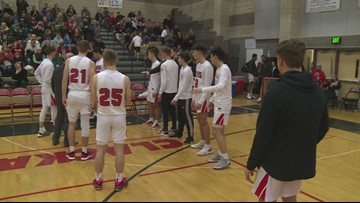 Highlights: No. 9 Clackamas takes down No. 2 Central Catholic 71-61