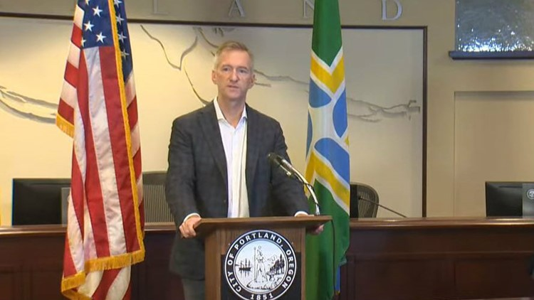 Mayor Ted Wheeler planning to reduce number of unsanctioned camps in Portland