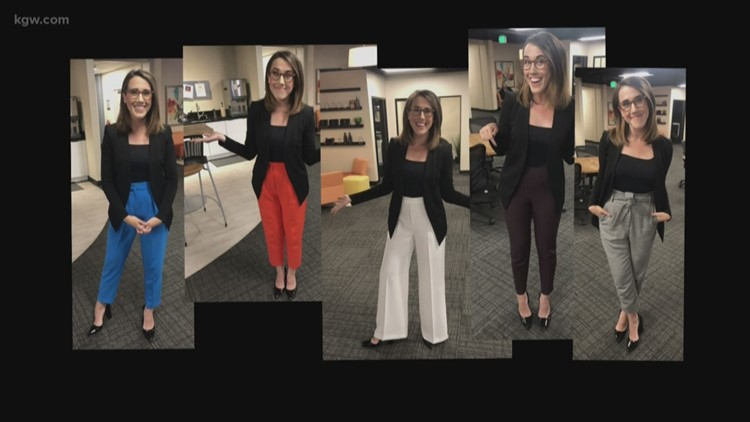 "KGW's Maggie Vespa responds to viewer asking her to ""dress like a normal woman"""