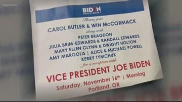 Former Vice President Joe Biden set to visit Portland