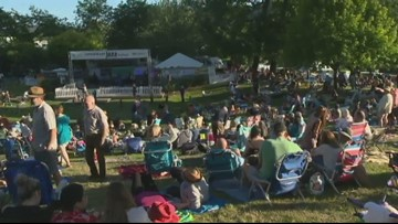 Check out the Cathedral Park Jazz Festival this weekend