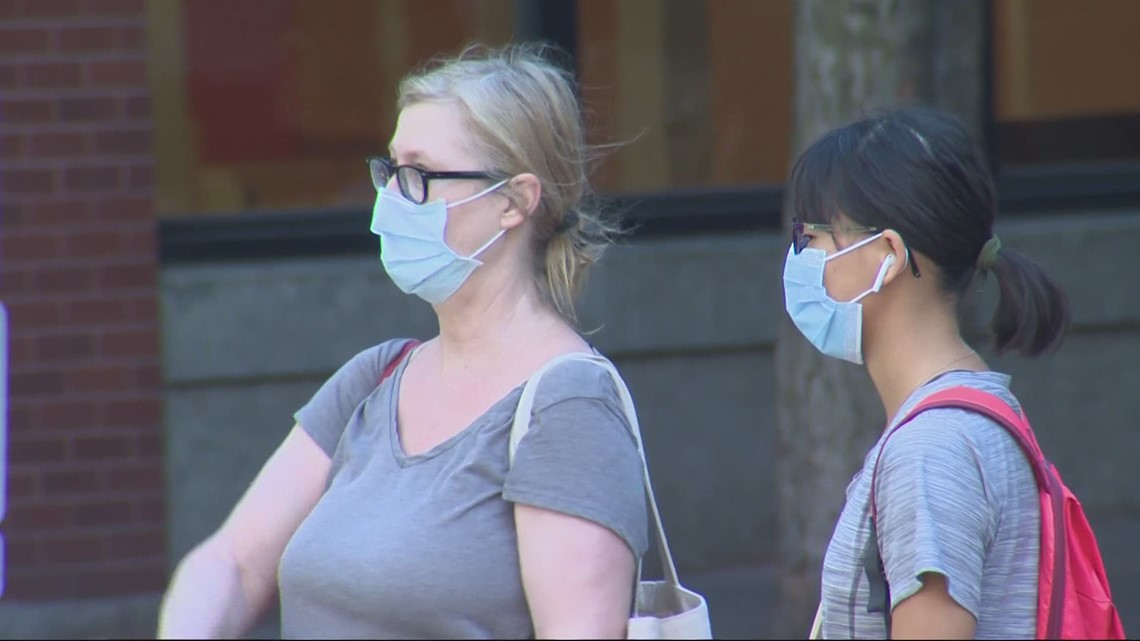Multnomah County recommends everyone wear masks indoors