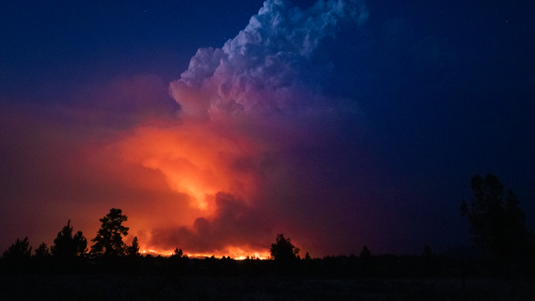 The latest on the wildfires burning in Oregon and Southern Washington