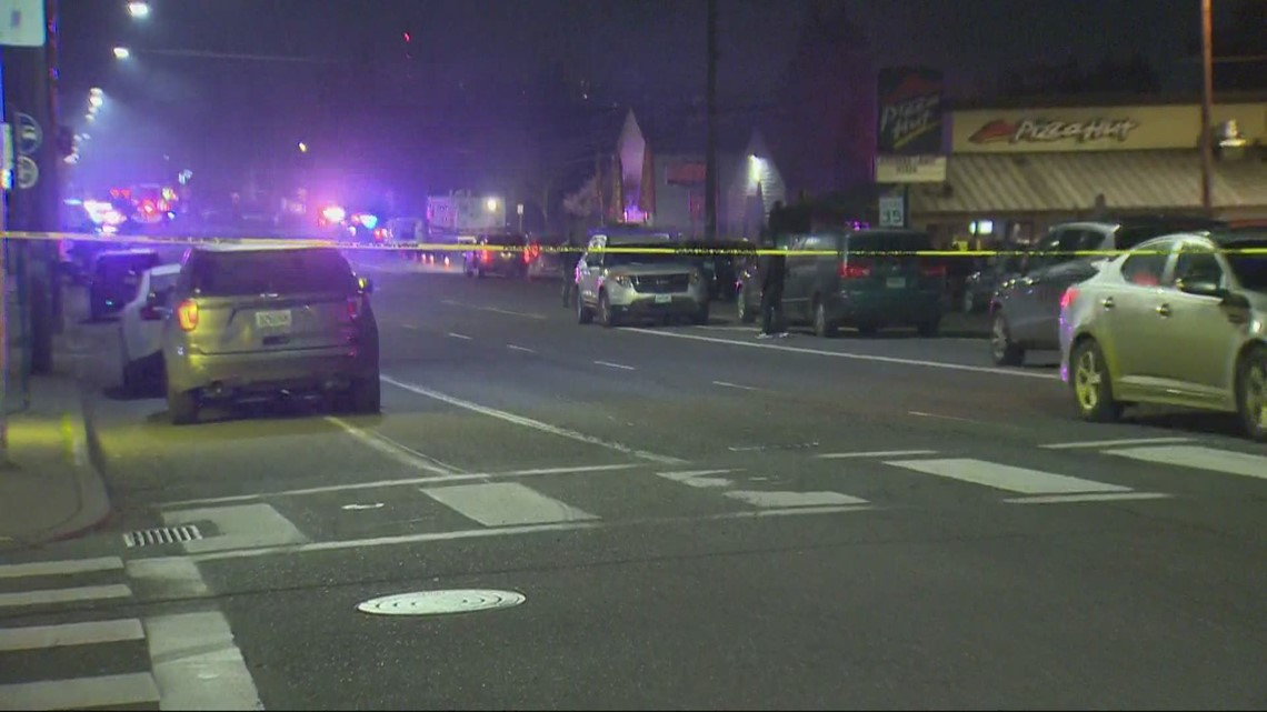 Shooting ends with car chase in SE Portland