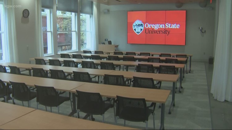 Osu Students Complete Degrees In Portland