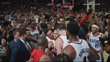 Blazers photo goes viral