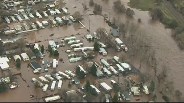 Flooding cleanup continues for homeowners in Eastern Oregon