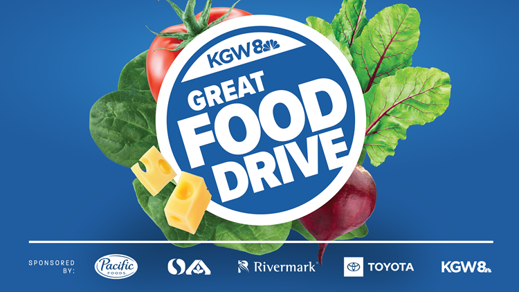 Join the KGW Great Food Drive