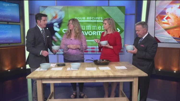 Drew Carney's Favorite Summer Recipes: The Sunrise anchors sample Jamie's BBQ baked beans
