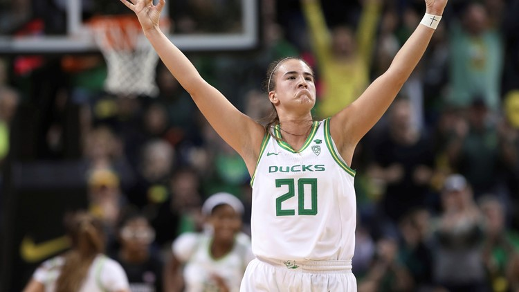 Ionescu has 37 and No. 6 Oregon downs No. 3 Stanford 87-55