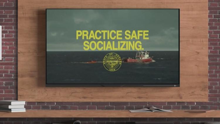 OHA pulls social distancing ad after Newport mayor raises concerns
