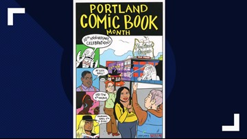 Celebrating 10 years of Portland Comic Book Month!