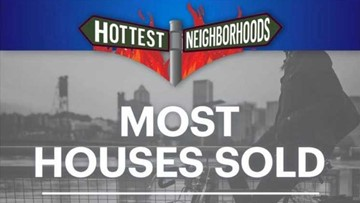 Hottest Hoods: Which neighborhoods had the most homes sold last quarter?