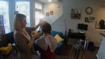 Coronavirus has people cutting their own hair