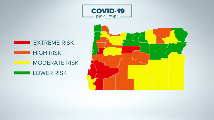 Oregon Gov. Brown pauses rollbacks to COVID-19 extreme risk level