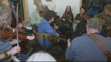 Enjoy a jam session this weekend at the Portland Old Time Music Gathering