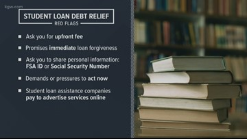 Warning signs: Beware of student loan debt scams
