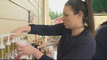 'It helps you be hopeful for your future': Coffee cart at Oregon women's prison teaches job skills