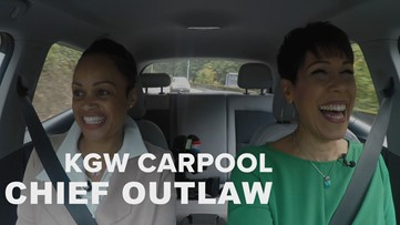 KGW Carpool: Portland Police Chief Danielle Outlaw about life and work in the Rose City