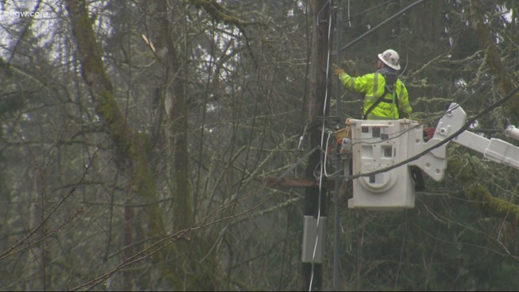 PGE plans to restore power to all but about 15,000 by Friday night