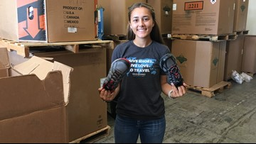 Resultado de imagen para Nonprofit in Wilsonville gives shoes to people in need