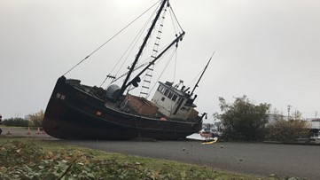 Century-old fishing boat set to be scrapped at Port of Garibaldi