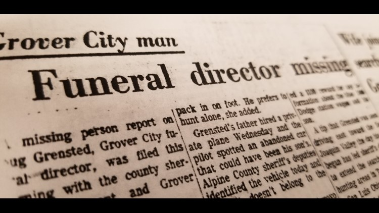 Grensted newspaper article