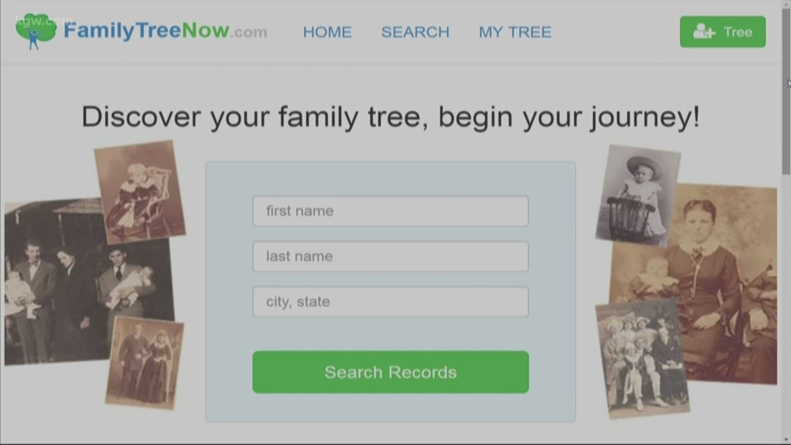 Free 'family tree' website shows your addresses, relatives and phone numbers