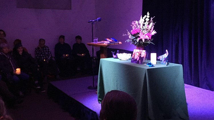 Vigil at Hoffman Center For The Arts