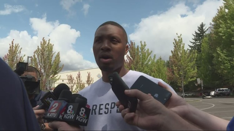 Lillard says filming 'Space Jam 2' required shave, 15-hour days