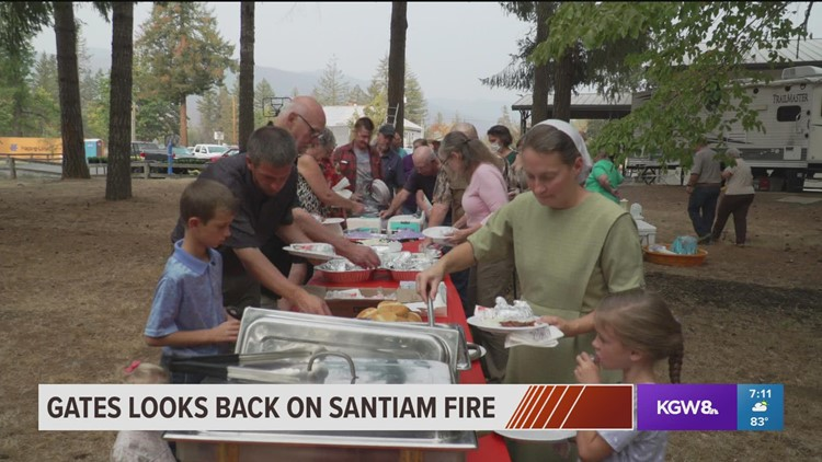 Dinner honors those who helped after Beachie Creek Fire