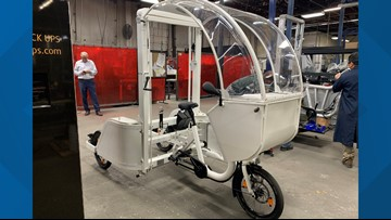 Portland-based company creating state-of-the-art pedal delivery trikes