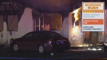 Woman dies, son severely burned in Boring house fire