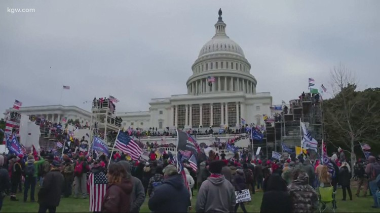 Father and son from Battle Ground charged in US Capitol riot