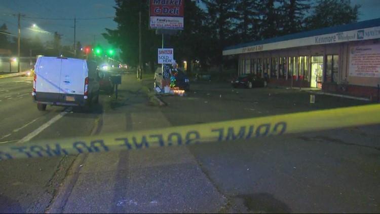 7 injured in drive-by shooting at Gresham vigil