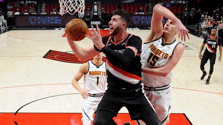 Nurkic the key for Blazers as series shifts back to Denver for pivotal Game 5