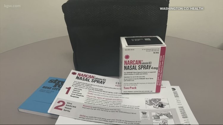 Washington County to hand out Narcan to inmates