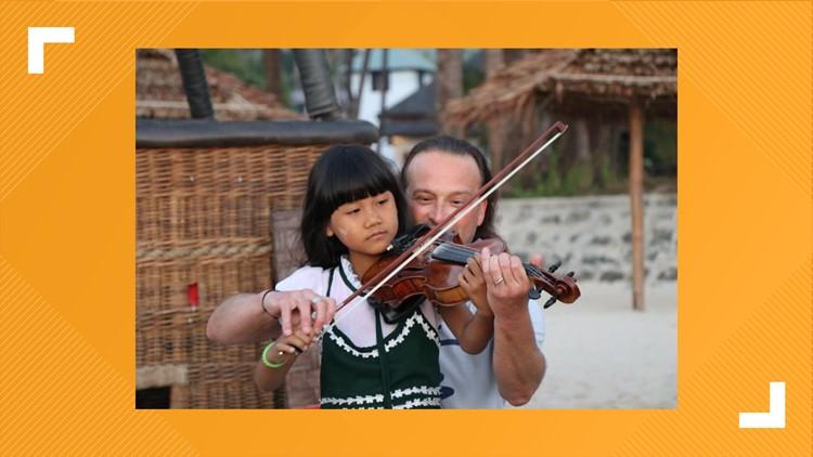 Portland violinist raising money to expand music school overseas
