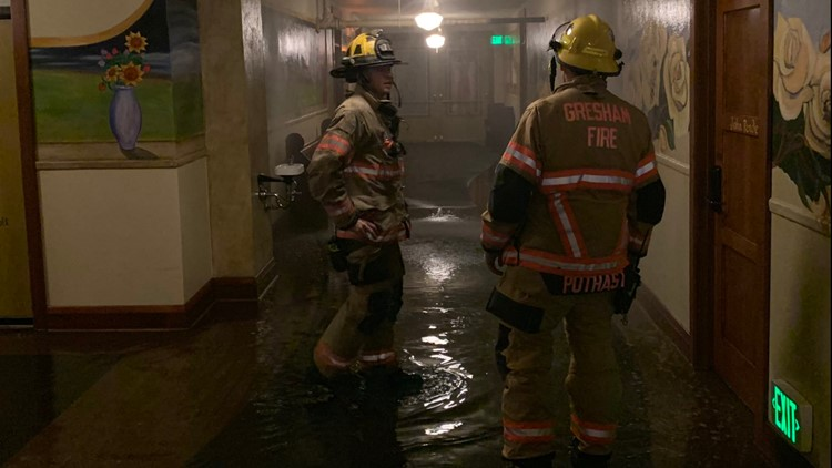 McMenamins Edgefield back open after broken pipe floods floors, forces evacuation