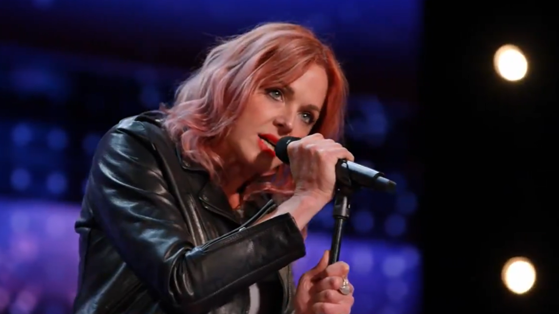 Storm Large earns standing ovation from judges on 'America's Got Talent'