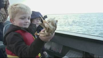 Grant's Getaways: 'Tis the season for Dungeness crabbing