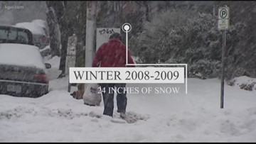 A look back: 3 big Oregon winter storms since 2000