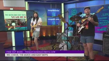 Mic Check: The Quick & Easy Boys