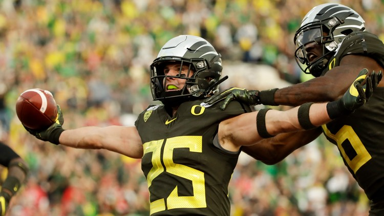 Oregon Ducks' Brady Breeze will be 'repping for rare diseases' at pro day