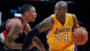 'Please don't tell me this is true': Blazers react to death of Kobe Bryant