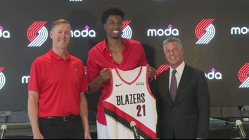 Hassan Whiteside looking forward to 'fresh start' in Portland, helping Blazers win championship